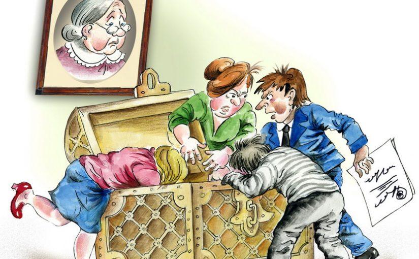 Родственники стали делить имущество ещё до похорон отца
